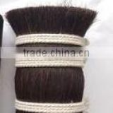 Horse Tail Hair,No tangle no shedding natural color 100% straight horse tail hair,horse mane and tail hair