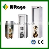 .High quality Bulk coffee bean silo/ coffee bean dispenser with scoop from professional supplier