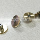 hobbing gear machines precision double round brass telescope gearbox gear