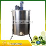 full enclosed durable 4 frames electric honey extractor with honey flow gate and stand; eletric honey extractor ;