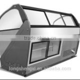 Refrigerating freezer display bar cabinet for meat used in restaurant and supermaket