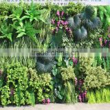 Factory price vertical fake artificial grass garden green wall