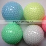 manufacture crystal suryn surface PU golf balls for sale