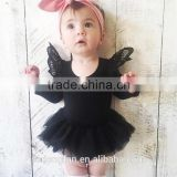 Chinese Clothing Manufacturers Australia Style Cotton Ruffle Lace Baby Girl Clothes