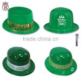 St. Patrick's Day Party Plastic Shamrock Hat for Irish Festival Decoration