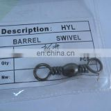 Fishing barrel swivel connector 3/0