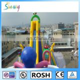 2016 Sunway Inflatable Bouncer with Slide Jumping Castles Inflatable Water Slide/Inflatable Bouncer Combo