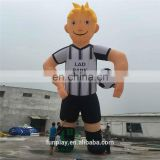 Hi big inflatable football player advertising,best sale cartoon mascot,most popular cartoon model characters