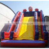 Inflatable Super Slide, big spiderman slide