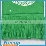 Soccer Teams Fans Scarf 2016 World Cup Knitting Jacquard Football Scarf Different Designs