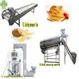 Automatic potato wafer making machine automatic potato chip maker