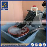 Small and portable gold mining separator fine gold recovery machines