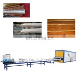 wood grain effect transfer machine for aluminum profile and sheet