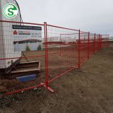Professional factory cheap powder coated Canada portable temporary fence