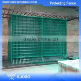 Hot Sale Metal Net Protective Fence Used Wrought Iron Fencing Pvc Coated Diamond Mesh For Protecting Fence
