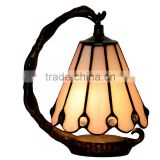 tiffany table lamp stained glass decor colour skirt night light decorative mini led lights