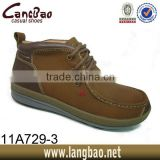 2014 Brown Color Genuine Leather Fashion Men Boots,Fashion Men Middle Boots,Shoes For Men