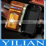 Luxury wallet stand leather case flip cover For Alcatel One Touch Pop C3 C5 C7 Idol mini 4033 5036 6012 7040