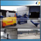 China portable mobile concrete block plant from concrete foaming to block forming