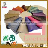 Cushioned pilates and yoga mat durable mat