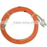 fiber optic fabric 0.9/2.0/3.0mm fiber patch cord Made in China