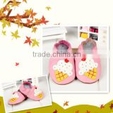 2015 Hot Sale Baby Moccasins Soft Leather Moccs Baby Booties Toddler Shoes Baby Shoes