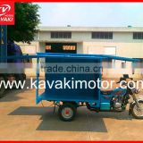 Guangzhou three wheel adult kick scooter/ motorcycle/closed cabin trike/cargo box tricycle for hot sale