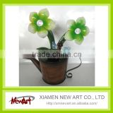 high quality made in china cheap watering can with solar light garden decoration                                                                         Quality Choice