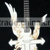UNFINISHED PROJECT ELECTRIC GUITAR BUILDER WITH ANGEL BODY(K45)