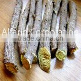 Dried Liquorice Licorice Roots Long Sticks (Mulethi) Afghan Origin Hand Selected Yellow Tip Premium Quality