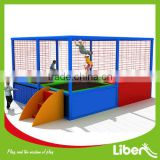 huge indoor inflatable trampolines park with ball pool,foam pit LE.T3.405.193