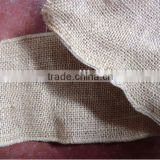 jute ribbon with wired edge