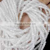 5 Strands White Cubic Zirconia 3mm Rondelle Faceted CZ Beads Strand,Crystal CZ Beads,Clear Quartz CZ Beads,Jewelry Bead
