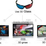 Cheap 3D active video glasses