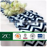 new products 100%polyester satin wave parttern table runner