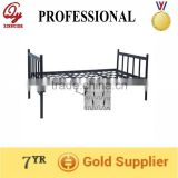 heavy duty metal single bed with spring base B-03