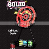 stable quality glass magnetic drinking dart game for promotion