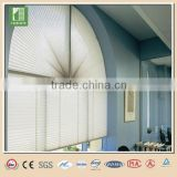 Non-woven lace pleated window blinds pleated paper blinds
