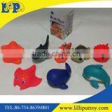 Cute 8PCS animal water Spray Bath Play Toy for kids