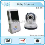 vivid image baby monitor 2-way communication, real time monitor, infrared night vision,rechargeable battery TV Out JVE-2011