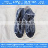 factory directly supply high quality men's used shoes used casual shoes export for Africa