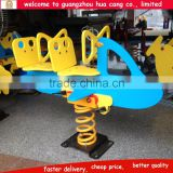New design airplane amusement rides , amusement two seats spring ride , ride on spring toys