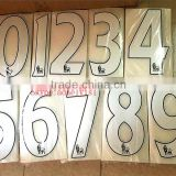 factory direct heat transfer paper for jersey numbers and letters flock heat transfer vinyl