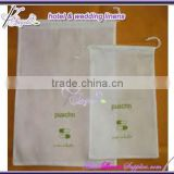 disposable laundry bags, non-woven laundry bags for hotels, 45*55cm, with a string at top for closing