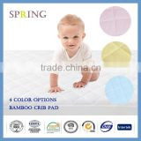 Amazon Best Seller Waterproof Fitted Crib and Toddler Protective Mattress Pad Cover