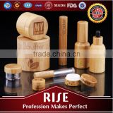 Customizable Shape Bamboo Lip Balm Container                                                                         Quality Choice