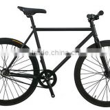 fixed gear bike 700c single speed track bicycle black frame black wheel for men diy custom color