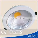 Die aluminum factory hot sale cob 30w 8 inch led downlight
