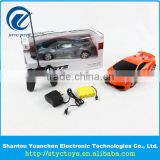 Best price scale 1:18 4 channel simulation model plastic gear radio control toy car rc hobby cars toys remote control with LED