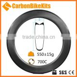 CarbonBikeKits SP80T Tubular Carbon dimple rim